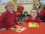 Learning about colours and shapes